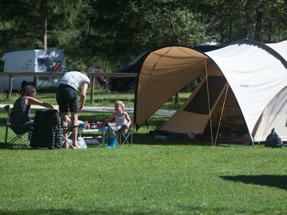 A family-friendly camp